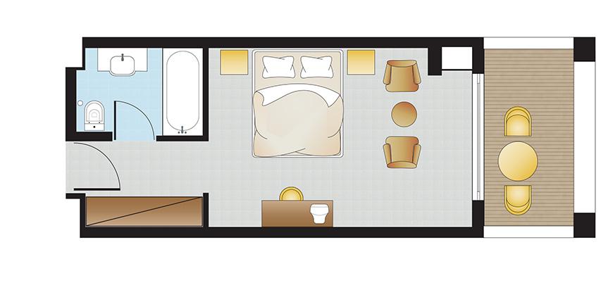 double-room-filoxenia-kalamata-floorplan