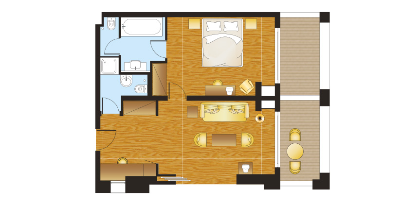 filoxenia-kalamata-resort-master-family-side-sea-view-room-with-garden-floorplan