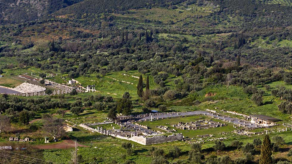 Ancient Messene peloponnese